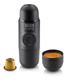 Cafetera Portatil Nespresso Minipresso Negro Wacaco Capsulas