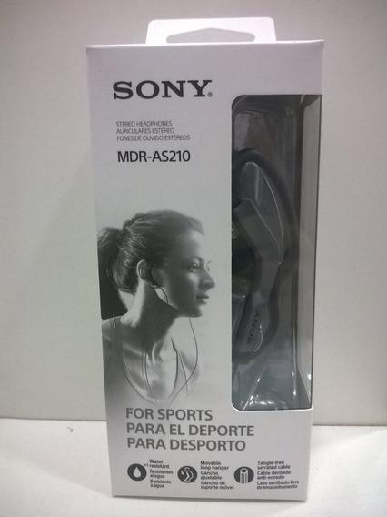 Fone De Ouvido Esportivo Sony Mdr-as210