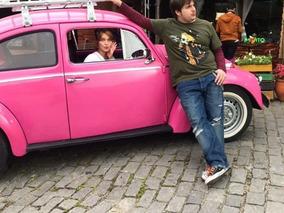 Fusca Rosa Personalizado, Ano 1970 - Carro Famoso!