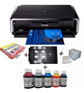 Impresora Canon Ip7210 Imprime Cd Dvd Credenciales