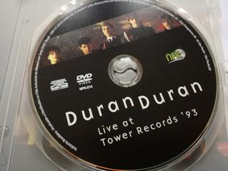 Duran Duran - Live At Tower Records 90--- Muy Raro