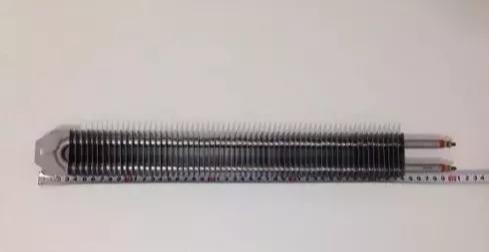 Resistência Elétrica Aletada 500mm 2000w 220v Estufa