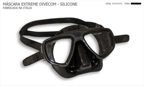 Imagem 1 de 1 de Máscara De Mergulho Divecom Extreme