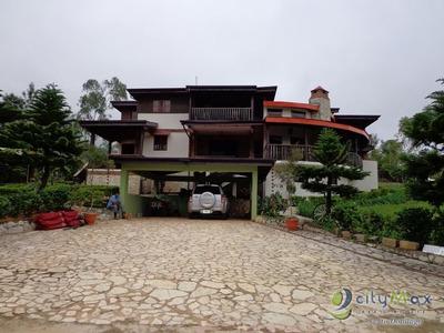 Villa En Venta En Jarabacoa La Vega República Dominicana - P