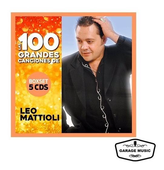 Leo Mattioli - Las 100 Grandes Canciones (5 Cds) - Ya Musica