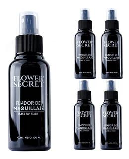 Lote De 12 Fijador De Maquillaje Flower Secret Spray