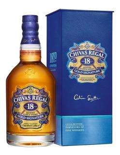 Whisky Chivas Regal 18 Años 750ml Gold Signature Original