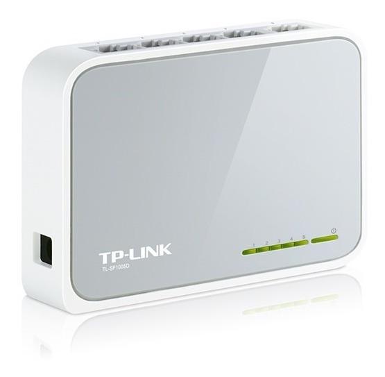 Switch Tp-link 5 Puertos Tl-sf1005d 10/100mbps 5 Bocas