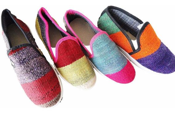 Zapatillas De Aguayo Sin Cordones Diseño Exclusivo