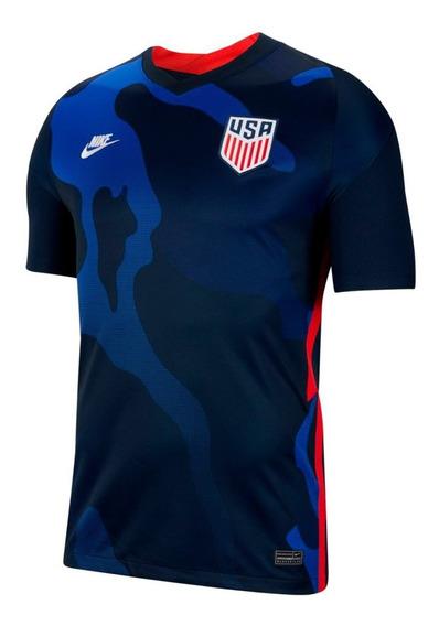 Camisa Futebol Dos Estados Unidos Masculino Torcedor - 2020