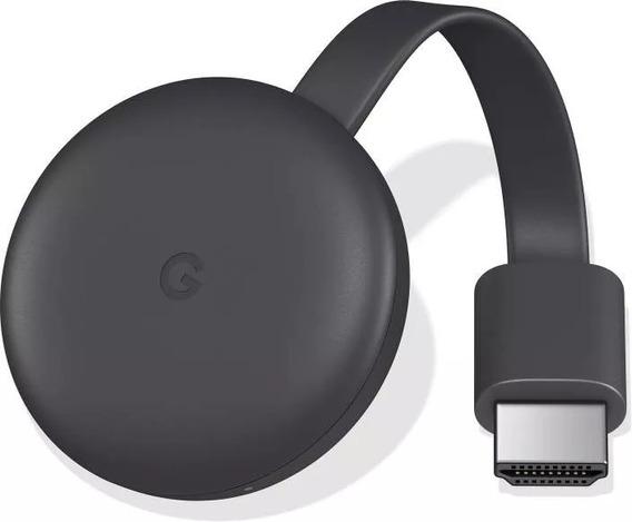 Google Chromecast 3 Chrome Cast 3-crome Hdmi 1080p 2019