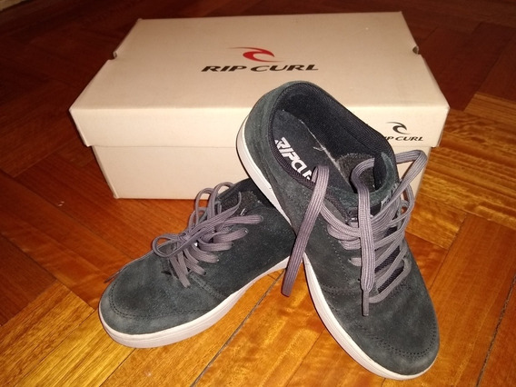 Zapatillas Tipo Curl T. 36 Negro/gris Usada, Exelente Estado