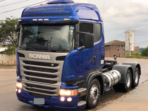 Scania R480 (6x4) Ano 2015