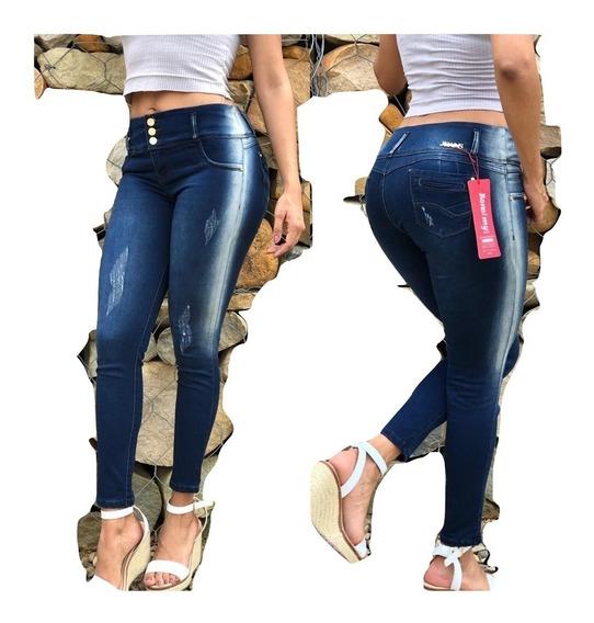 Jeans Pantalon De Dama Studio Femenino Moda Colombiana