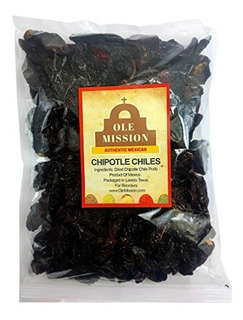 Chiles Chipotle Secos 4 Oz. Chile Morita Excelente Sabor A