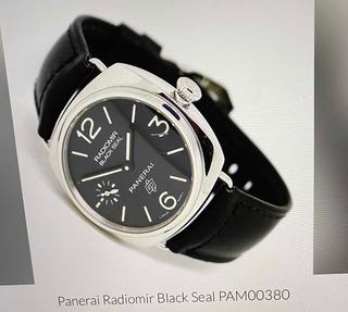 Panerai Radiomir Negro Sello Pam380 Hombre Reloj Uss 4200