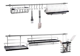 Organizador Cocina Barral Set Colgado Metal Multiuso
