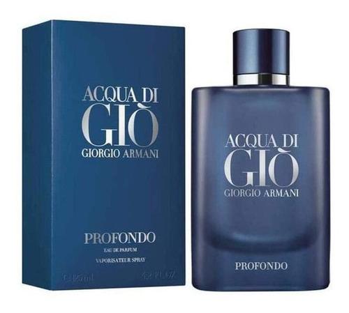 Imagen 1 de 1 de Armani Acqua Di Gio Profondo Edp 125ml / Prestige Parfums