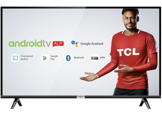 Smart Tv 40 Led Hd Tcl 40s6500 Android Comando De Voz