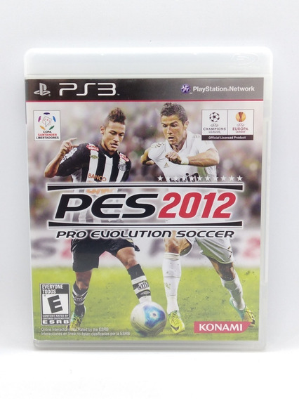 Pes 2012 Ps3 Midia Fisica Jogo Game Play 3 Portugues