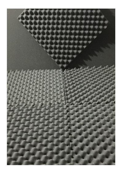 Kit 14 Placas 35mm Cobre 3,5 M² Espuma Acustica Anti Chamas
