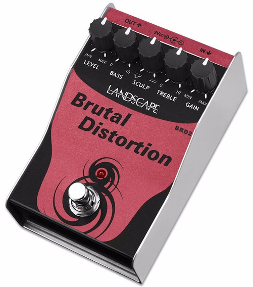 Pedal Landscape Brutal Distortion Brd2 Guitarra Distorção
