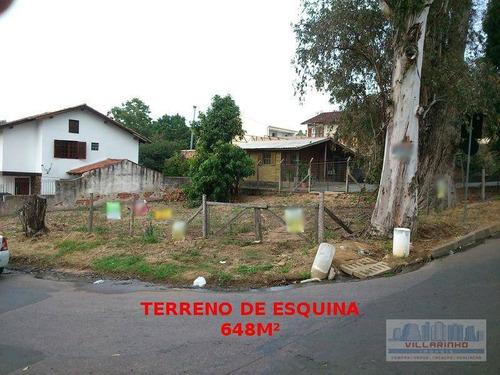Terreno À Venda, 627 M² Por R$ 320.000,00 - Cavalhada - Porto Alegre/rs - Te0031
