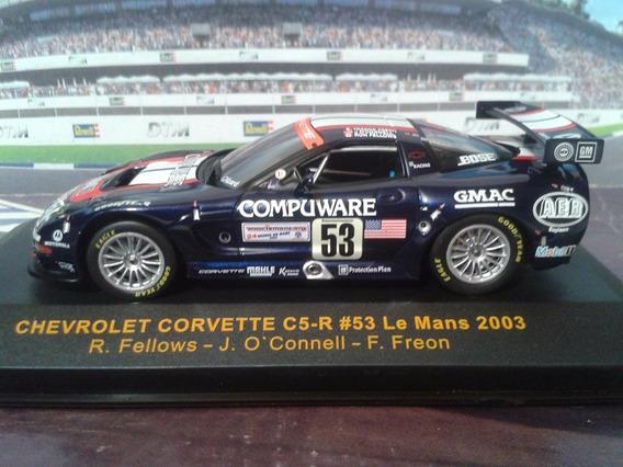 Ixo 1:43 Chevrolet Corvette C5-r Le Mans 2003 #53