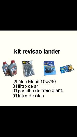 Kit Revisão Oleo+filtro De Ar E Oleo+pastilha Diant.