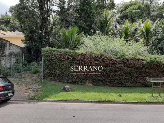 Terreno À Venda, 1000 M² Por R$ 300.000,00 - Condomínio Chácaras Do Lago - Vinhedo/sp - Te0375