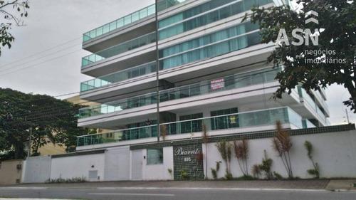 Cobertura Tríplex De 03 Qts, Piscina Privativa Em Ótima Localização Em Costazul  Rio Das Ostras - Co0013