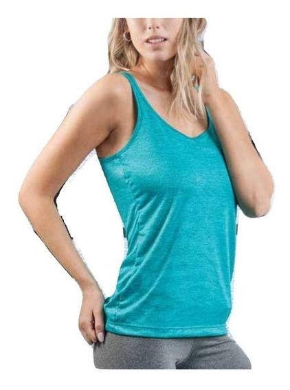 Musculosa Deportiva Mujer Color Liviana Verano Darling 2714