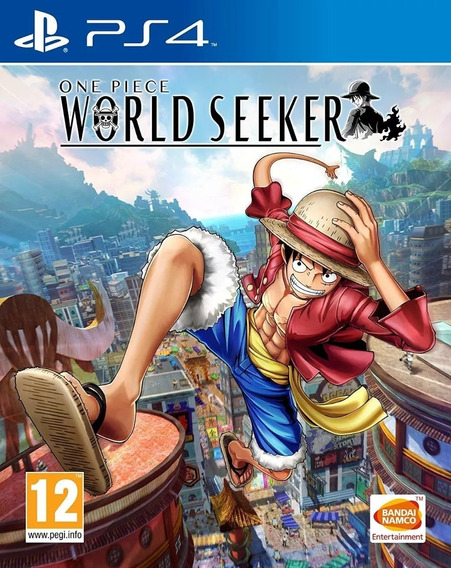 One Piece World Seeker Midia Fisica Lacrado - Novo - Ps4