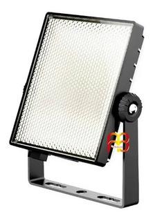 Reflector Led Cuadrado Esmerilado 50 W Luz Fría 4250 Lúmenes