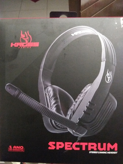 Headset Gamer - Kross Gaming - Spectrum