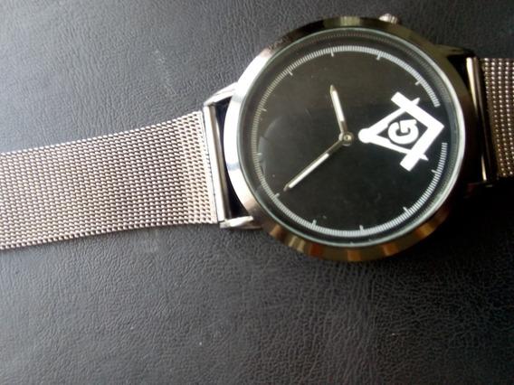 Reloj Masónico Negro ( Cuarzo)