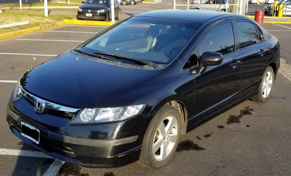 Honda Civic 1.8 Lxs Mt. Impecable. Asiento Cuero!