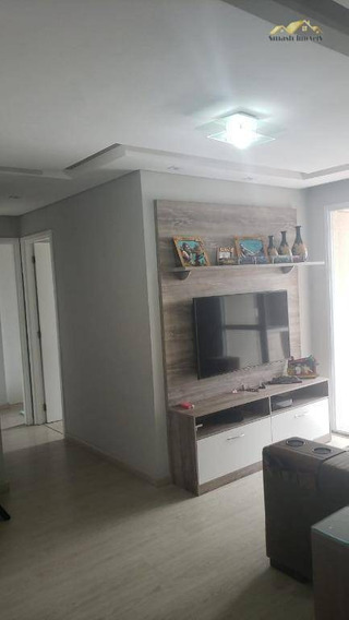 Apartamento Com 2 Dormitórios À Venda, 56 M² Por R$ 330.000 - Vila Galvão - Guarulhos/sp - Ap0227