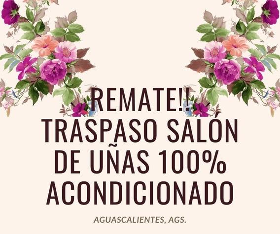 Remate Salon De Uñas Acondicionado 100%