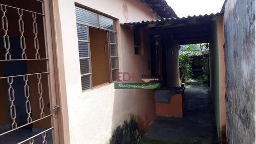 Imagem 1 de 7 de Casa Com 2 Dormitórios À Venda Por R$ 138.000,00 - Vila São João (são Silvestre) - Jacareí/sp - Ca6392