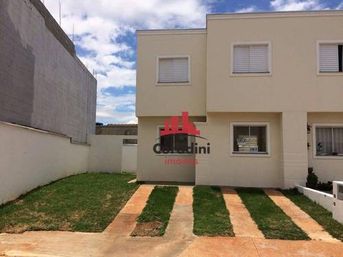 Imagem 1 de 12 de Casa Residencial À Venda, Jardim Santa Rita Ii, Nova Odessa. - Ca1775
