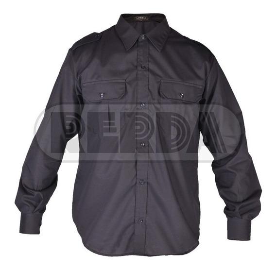 Camisa Manga Larga Policía Federal Premium T: 34 A 44 Envio