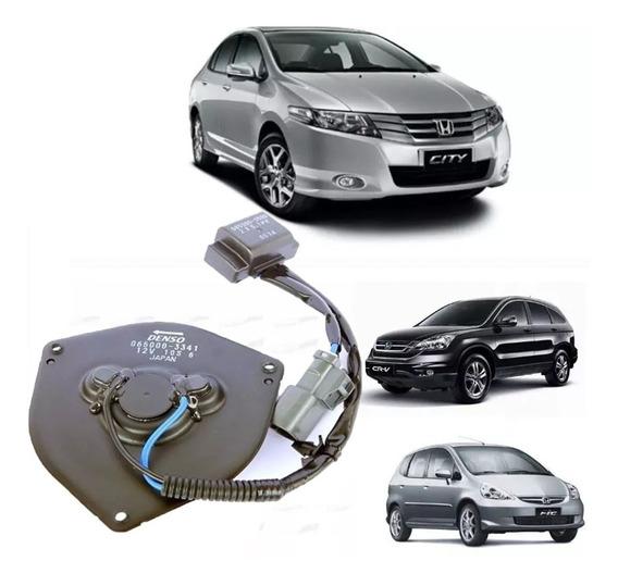 Motor Ventoinha Ar Condicionado Civic Crv New Fit Original