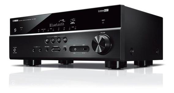 Yamaha Rx-v385 Receiver 5.1 Bt 4k Uhd 3d Revenda Oficial