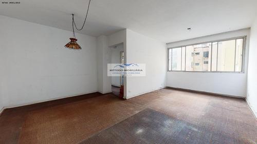 Apartamento Para Venda Em São Paulo, Paraiso, 2 Dormitórios, 1 Banheiro, 1 Vaga - 12651_1-1430562