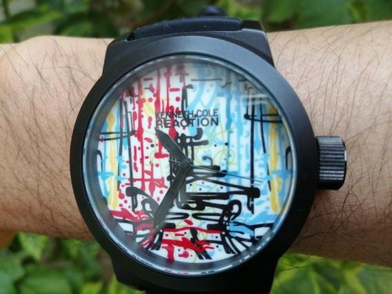 Kenneth Cole Reaction A126-12 Watch, Reloj De Pulso