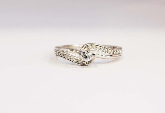 Anillo Oro14k Diamante 0.40ct