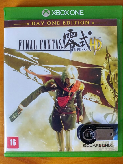 Final Fantasy Type 0 Hd Xbox One Mídia Física