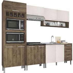 Cozinha Completa Genialflex 10 Portas 3 Gavetas Mdp