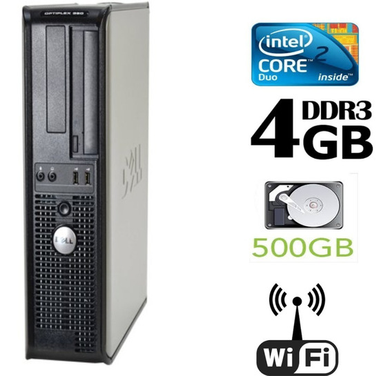 Dell 380 4 Gb Hd 500 Gb Wi Fi